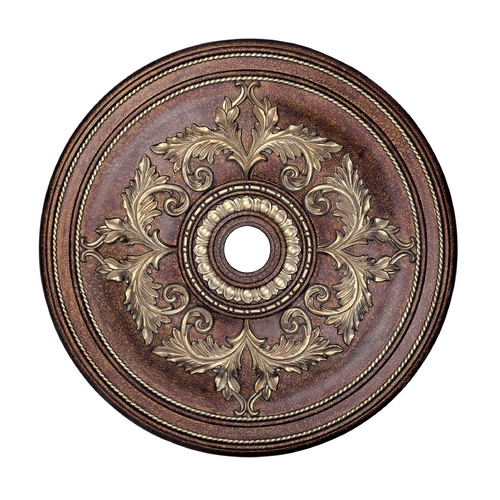 Livex Lighting Livex Lighting Palacial Bronze with Gilded Accents Ceiling Medallion 8211-64
