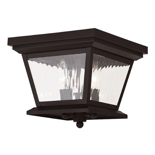 Livex Lighting Livex Lighting Hathaway Bronze Close To Ceiling Light 20239-07