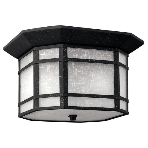 Hinkley Lighting Hinkley Lighting Cherrycreek Vintage Black Close To Ceiling Light 1273VK-GU24