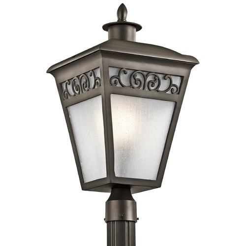 Kichler Lighting Kichler Lighting Park Row Olde Bronze Post Light 49617OZ