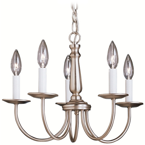 Kichler Lighting Kichler Chandelier in Brushed Nickel Finish 1770NI