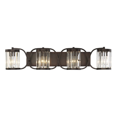 Savoy House Savoy House Lighting Nora Burnished Bronze Bathroom Light 8-4063-4-28