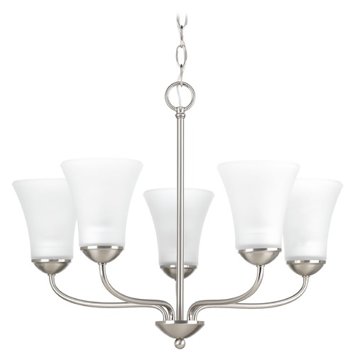 Progress Lighting Progress Lighting Classic Brushed Nickel Chandelier P4770-09