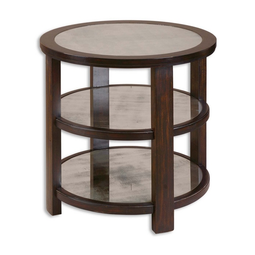 Uttermost Lighting Accent Table in Aubergine Finish 24127