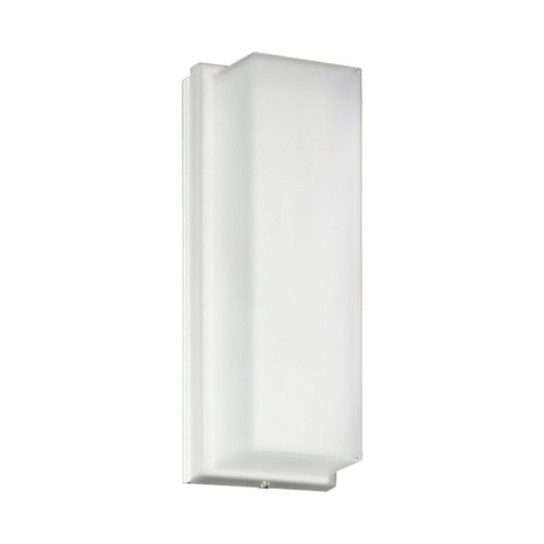 Progress Lighting Progress Outdoor Wall Light with White in White Finish P7124-60