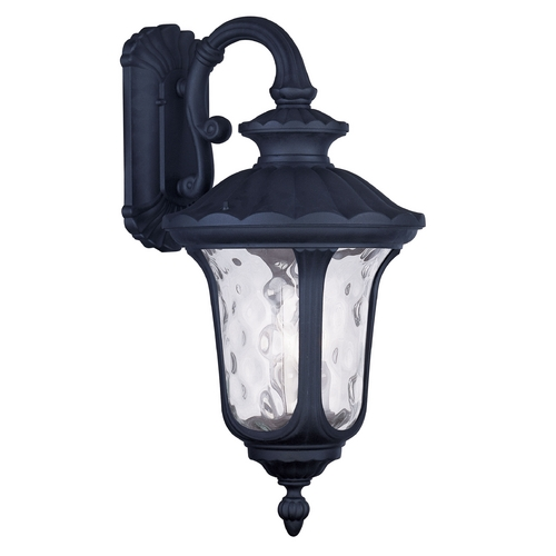 Livex Lighting Livex Lighting Oxford Black Outdoor Wall Light 7857-04
