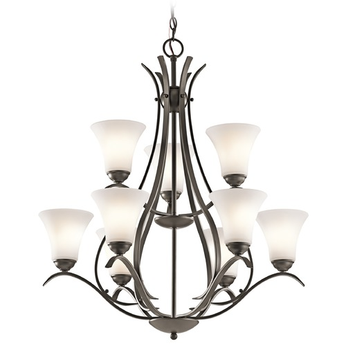Kichler Lighting Kichler Lighting Keiran Olde Bronze Chandelier 43506OZ