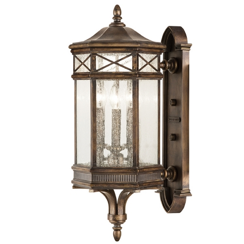 Fine Art Lamps Fine Art Lamps Holland Park Antique Bronze Outdoor Wall Light 837481ST