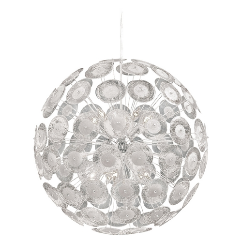 Cyan Design Cyan Design Dandelion Chrome Pendant Light 6361-10-14