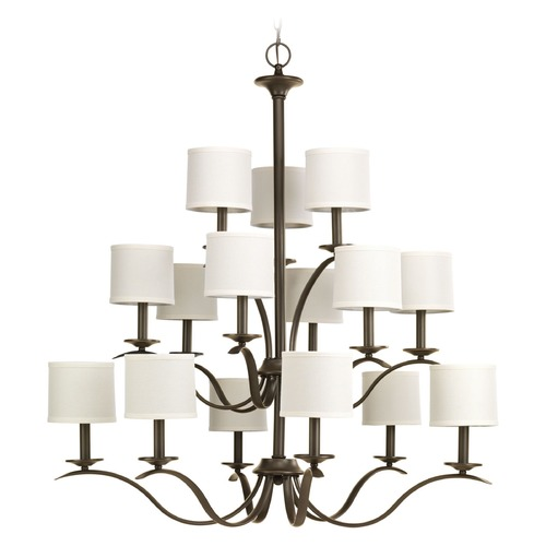 Progress Lighting Progress Lighting Inspire Antique Bronze Chandelier P4650-20