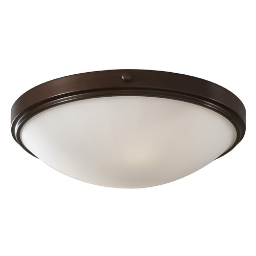 Feiss Lighting Feiss Lighting Perry Heritage Bronze LED Flushmount Light FM353HTBZ-LED