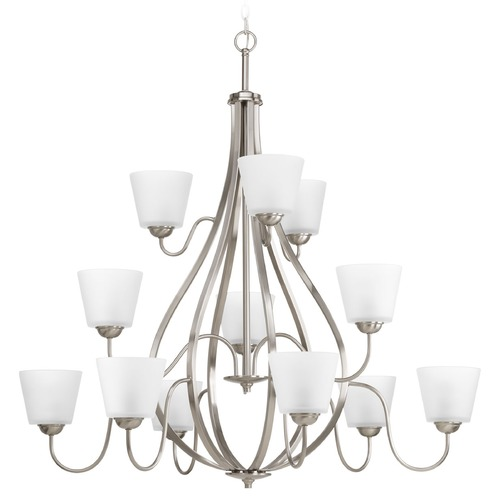 Progress Lighting Progress Lighting Arden Brushed Nickel Chandelier P4748-09