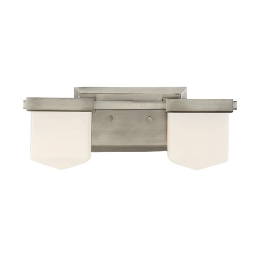 Savoy House Savoy House Lighting Dylan Polished Pewter Bathroom Light 8-4068-2-57