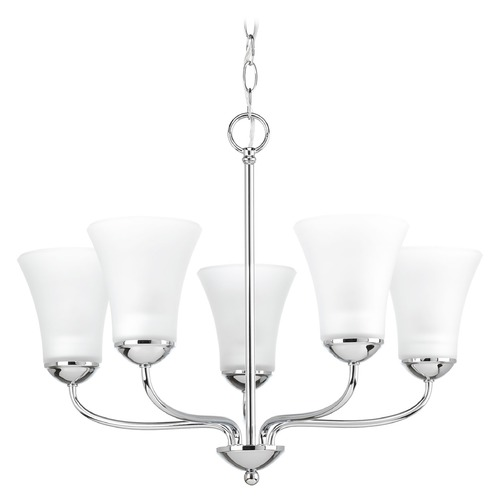 Progress Lighting Progress Lighting Classic Polished Chrome Chandelier P4770-15