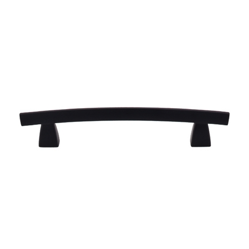Top Knobs Hardware Modern Cabinet Pull in Flat Black Finish TK4BLK