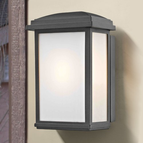 Design Classics Lighting Vermont Black Outdoor Wall Light 1742-BK