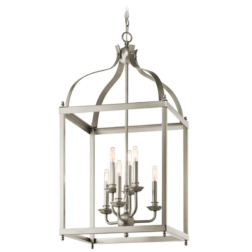 Kichler Lighting Kichler Pendant Light in Brushed Nickel Finish 42568NI