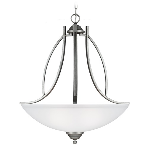 Sea Gull Lighting Sea Gull Lighting Vitelli Weathered Pewter Pendant Light 6631403-57
