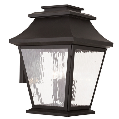 Livex Lighting Livex Lighting Hathaway Bronze Outdoor Wall Light 20240-07