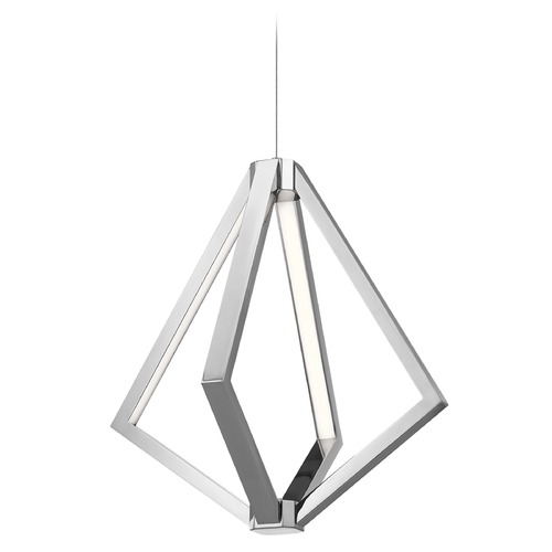 Elan Lighting Elan Lighting Everest Chrome LED Pendant Light 83886