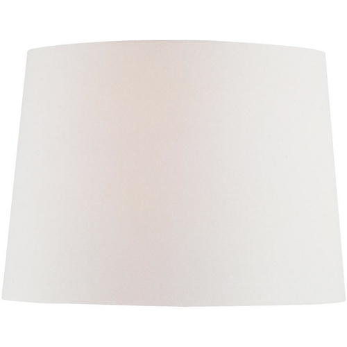 Lite Source Lighting Off-White Drum Lamp Shade with Spider Assembly CH1151-16OFF/WH