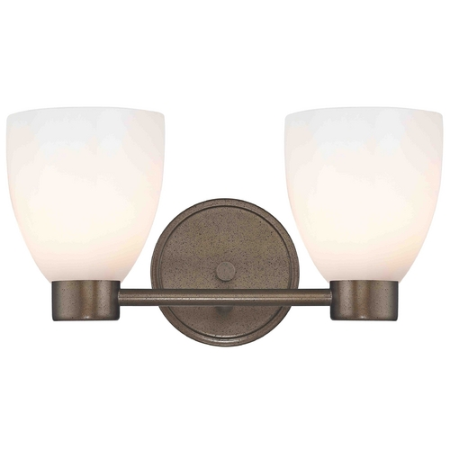 Design Classics Lighting Design Classics Lighting Aon Fuse Heirloom Bronze Bathroom Light 1802-62 GL1028MB