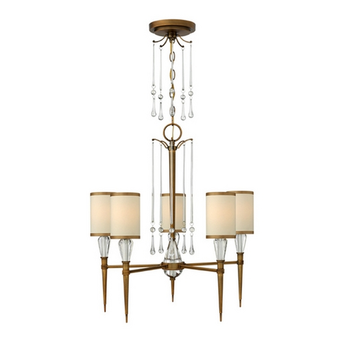Fredrick Ramond Frederick Ramond Bentley Brushed Bronze Chandelier FR44505BBZ