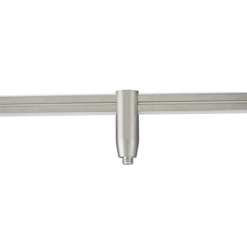 WAC Lighting Wac Lighting Brushed Nickel Rail, Cable, Track Accessory LM2-QADP-BN