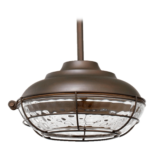 Quorum Lighting Quorum Lighting Hudson Oiled Bronze Outdoor Hanging Light 8375-86