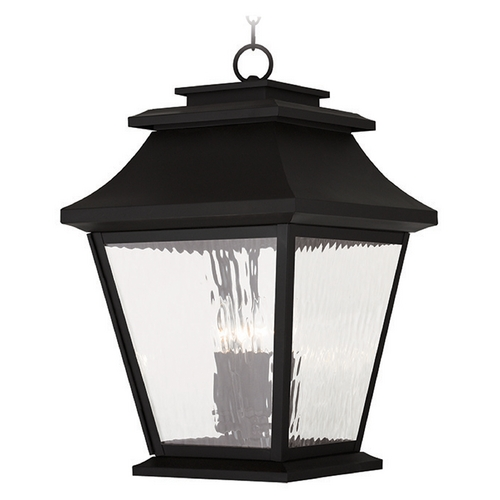 Livex Lighting Livex Lighting Hathaway Black Outdoor Hanging Light 20243-04
