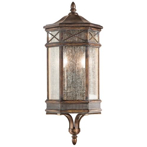 Fine Art Lamps Fine Art Lamps Holland Park Antique Bronze Outdoor Wall Light 838081ST