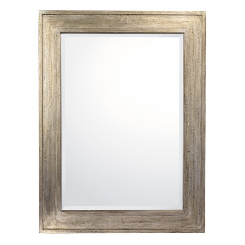 Capital Lighting Capital Lighting Silvered Brown Rectangle Mirror 40x30 M402401
