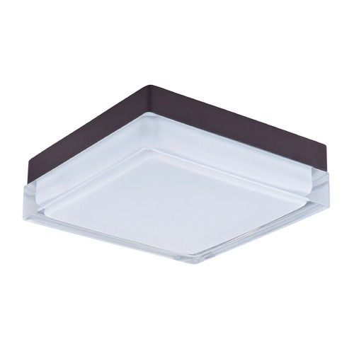 Maxim Lighting Maxim Lighting Illuminaire LED Bronze LED Flushmount Light 87646CLWTBZ