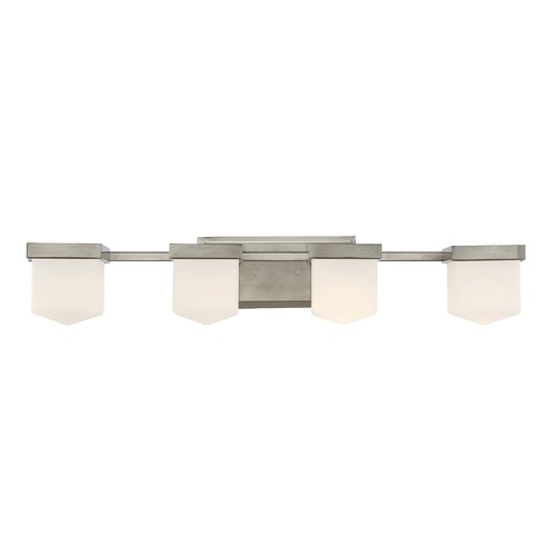 Savoy House Savoy House Lighting Dylan Polished Pewter Bathroom Light 8-4068-4-57