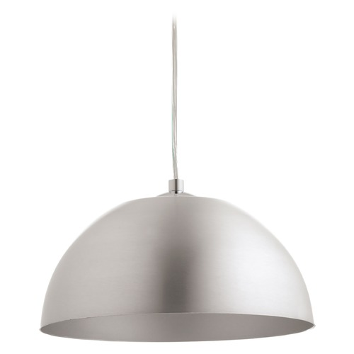 Progress Lighting Progress Lighting Dome Satin Aluminum LED Mini-Pendant Light P5340-1630K9