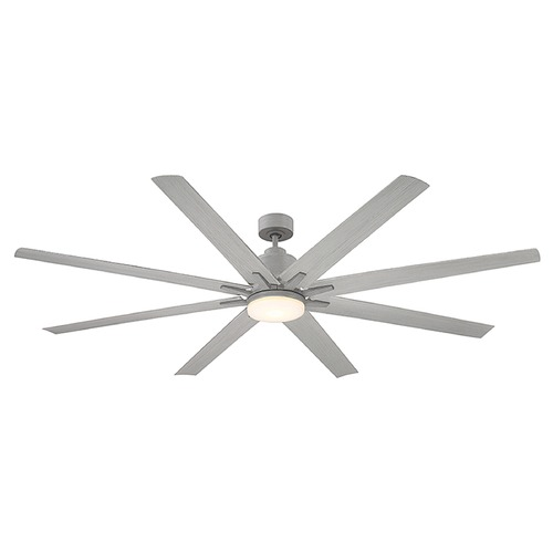 Savoy House Savoy House Lighting Bluffton Grey Wood LED Ceiling Fan with Light 72-5045-8GR-GR