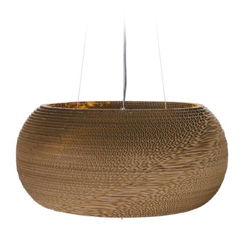 Varaluz Lighting Recycled Cardboard Pendant Light AC1366
