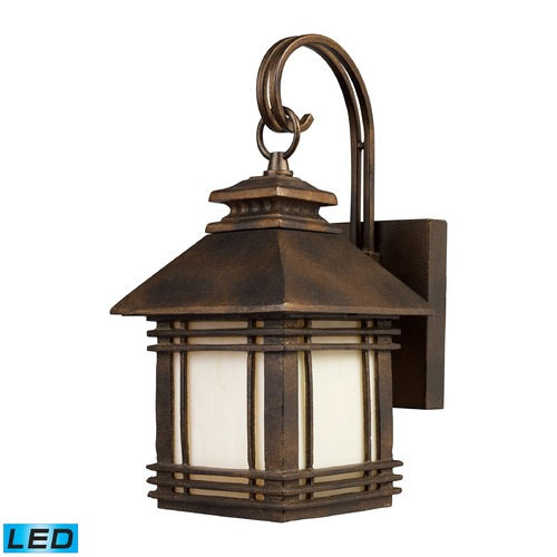 Elk Lighting Elk Lighting Blackwell Hazlenut Bronze LED Outdoor Wall Light 42105/1-LED