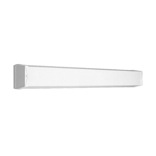 Progress Lighting Linear Fluorescent Bath White Bathroom Light - Vertical or Horizontal Mounting P7131-30EB