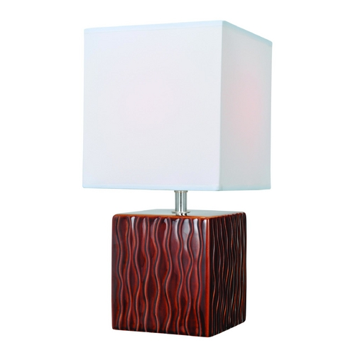 Lite Source Lighting Lite Source Lighting Kube Coffee Table Lamp with Square Shade LS-22379COFFEE