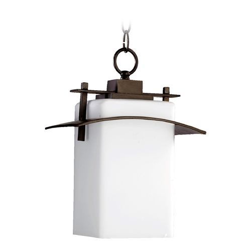 Quorum Lighting Quorum Lighting Kirkland Oiled Bronze Outdoor Hanging Light 7201-9-86