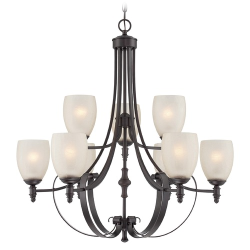 Savoy House Savoy House Lighting Duvall English Bronze Chandelier 1-622-9-13