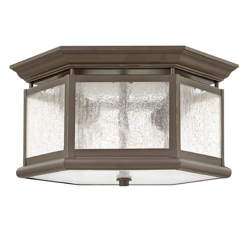 Hinkley Hinkley Edgewater Oil Rubbed Bronze Close To Ceiling Light 1683OZ