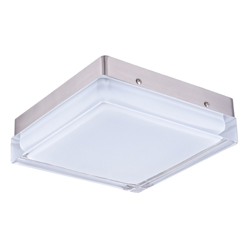 Maxim Lighting Maxim Lighting Illuminaire LED Satin Nickel LED Flushmount Light 87646CLWTSN