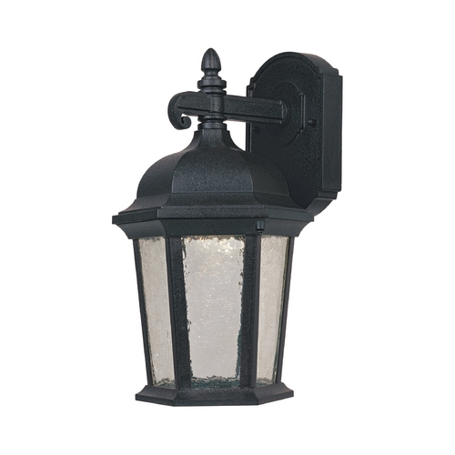 Designers Fountain Lighting LED Outdoor Wall Light with Clear Glass in Driftwood Finish LED2761-DWD