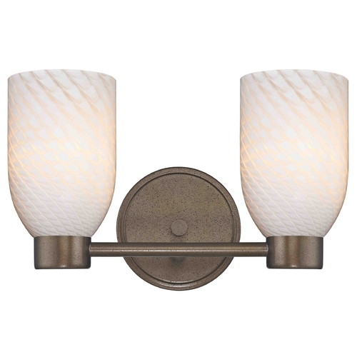 Design Classics Lighting Design Classics Aon Fuse Heirloom Bronze Bathroom Light 1802-62 GL1020D
