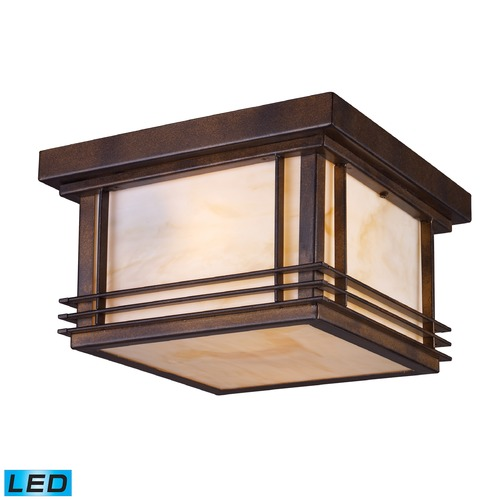 Elk Lighting Elk Lighting Blackwell Hazelnut Bronze LED Close To Ceiling Light 42106/2-LED
