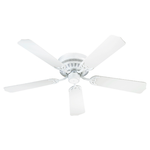 Quorum Lighting Quorum Lighting Hugger White Ceiling Fan Without Light 11425-6