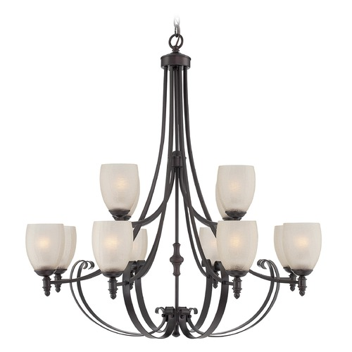 Savoy House Savoy House Lighting Duvall English Bronze Chandelier 1-623-12-13