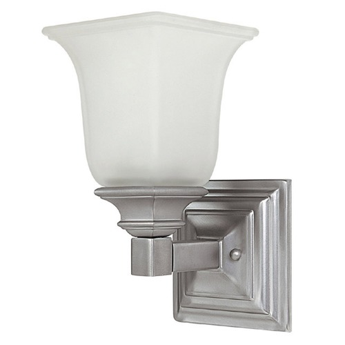 Capital Lighting Capital Lighting Matte Nickel Sconce 1061MN-142